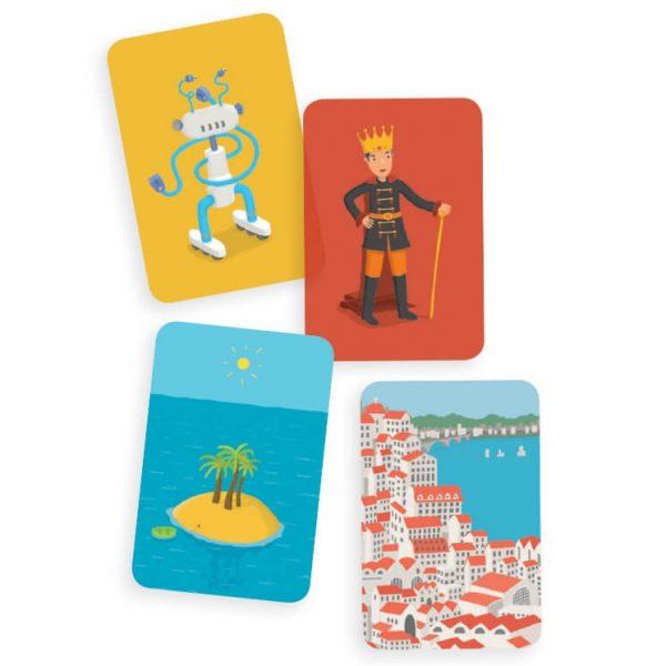Djeco sztori kártyajáték